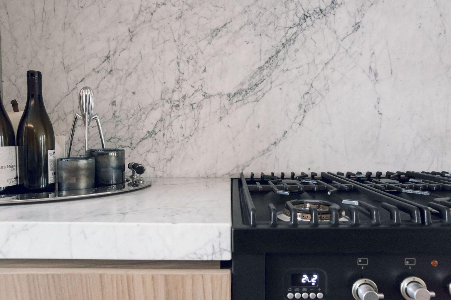 keuken marmer